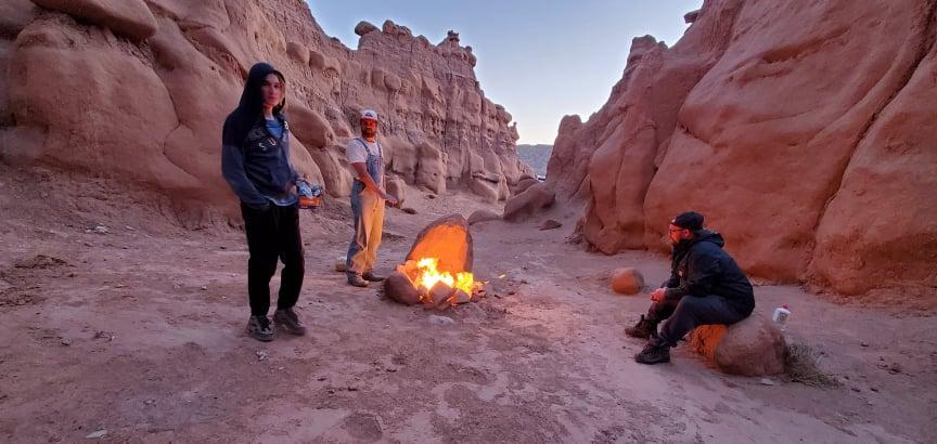More Fireside Chattin'