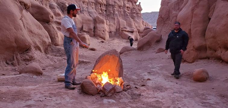 Campfire Chattin'